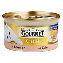 Gourmet Gold mousse zalm 85gr 24x