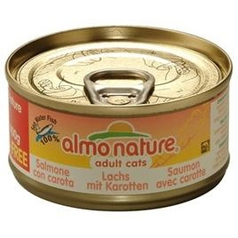 Almo Nature cat zalm/wortel 70gr