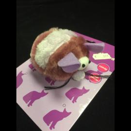 Adori speeltje pluche trilmuis met catnip