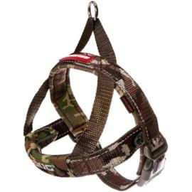 Ezydog Quick Fit harnas camouflage XXS