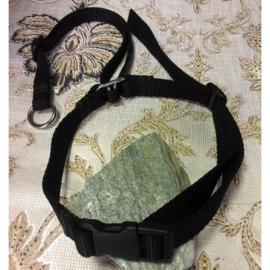 Verstelbare halsband met verstelbare koppeling