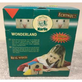 Karlie wonderland houten huisje