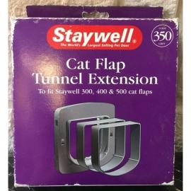 Staywell cat flap tunnel extention grijs/verlengtunnel