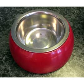Diner dog voer/drink bakje 13 cm
