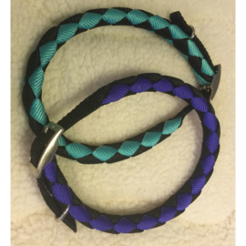 Ronde halsband verstelbaar nylon L/XL