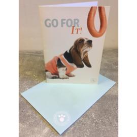 Studio Pets kaart Go For It!