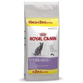 Royal Canin cat sterilised 10kg+2kg gratis