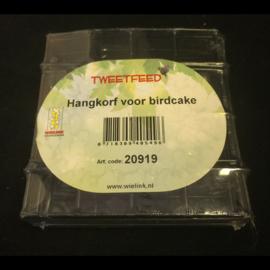 Tweetfeed hangkorf voor birdcake
