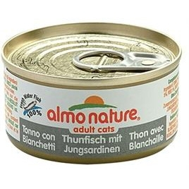 Almo Nature cat tonijn/sardines 70gr
