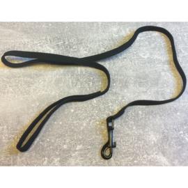 Nylon kattenlijn zwart 80 cm