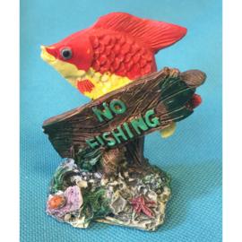 Europet bernina decor No fishing vis 1