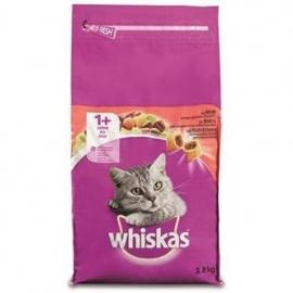 Whiskas droog adult rund 3,8kg