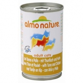 Almo Nature cat tonijn/kip 140gr