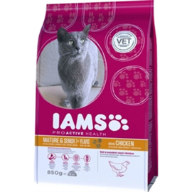 Iams Cat Senior/Mature chicken 850gr.