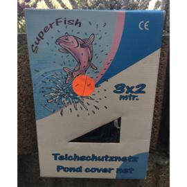 Superfish vijver afdeknet 3 x 2 mtr