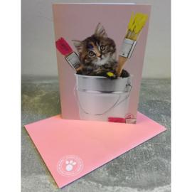 Studio Pets kaart kitten