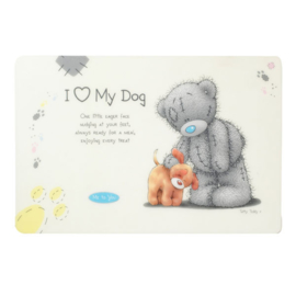 Me to You dog feeding mat