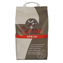 Cavom compleet lam/rijst 5kg