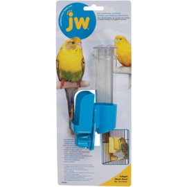 JW InSight Clean Seed – Silo Bird Feeder blauw