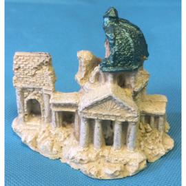 Europet bernina deco roman ruïne kerk