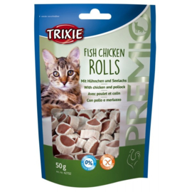 Trixie Premio fish chicken rolls 50 gr.
