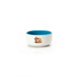 Beeztees voerbakje cavia blauw