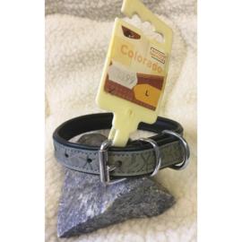 Europet bernina colorado lederen halsband blue 45 cm