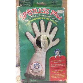 Spotless paw micro fiber reinigings handschoen