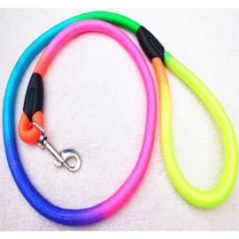 Nylon looplijn rond regenboog 1m