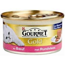 Gourmet Gold mousse rund 85gr 24x