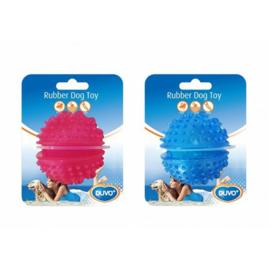 Duvo+ TPR Ball treat dispenser blauw