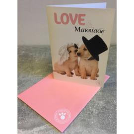 Studio Pets kaart Love & Marriage