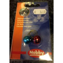 Nobby kattenbelletjes 2 st.