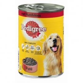Pedigree blik adult pate rundvlees 400gr 12x