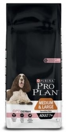 Pro Plan adult medium/large 7+ sensitive skin 3kg