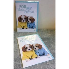 Studio Pets kaart For my Best Friend