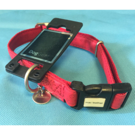 Dog gear MacLeather halsband rood