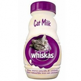 Whiskas catmilk flesje 200ml 15x