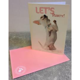 Studio Pets kaart Let's Party!