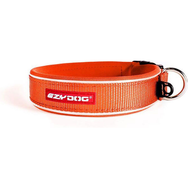 Ezydog Neo Classic halsband XS oranje