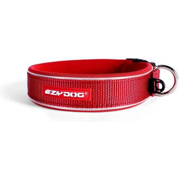 Ezydog Neo Classic halsband XS rood