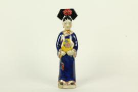 Chinese keizerin blauw