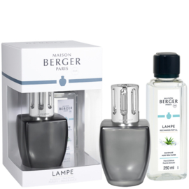 Lampe Berger Giftset June Gris Satine