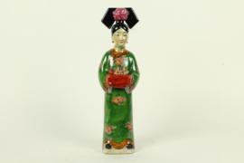 Chinese keizerin groen