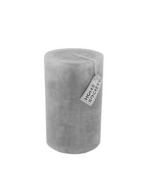 Pillar Candle 9x15cm Dawn Grey