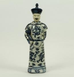 Chinees beeldje staande keizer/ vader
