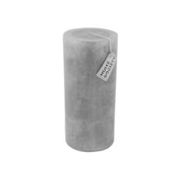 Pillar Candle 9x20cm Dawn Grey