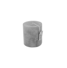 Pillar Candle 9x10cm Grey Dawn