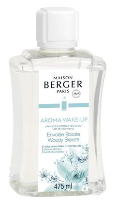 Maison Berger Diffuser Navulling Aroma Woody Breeze 475 ml