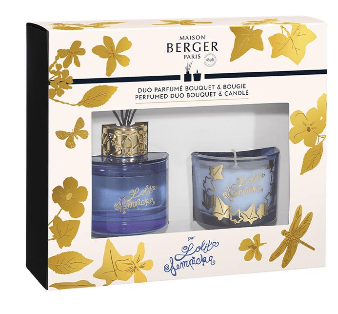 Parfumverspreider & kaars duo mini set Lolita Lempicka paars